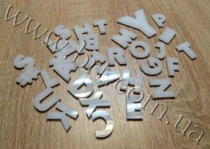 декоративные буквы для интерьера