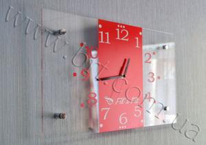 часы настенные прозрачные