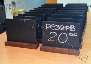 Chalkboard Table Signs
