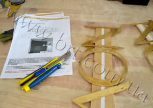 Manufacturing of metal letters