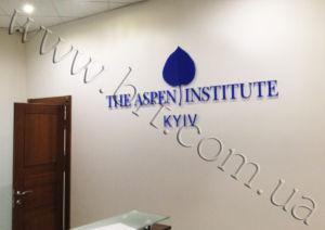 об'ємні логотипи в офіс