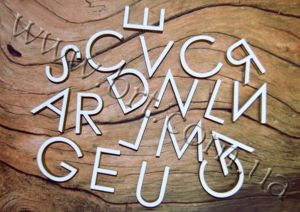 літери з пінокартону