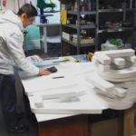 изготовление объемных букв в цеху БРТ