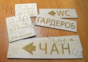 деревянные указатели