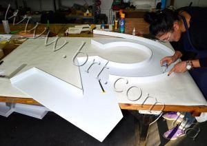 изготовление объемных букв киев